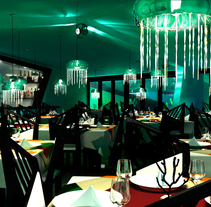 Restaurante el Coral. Um projeto de Design industrial de Yordany Ovalle Muñoz         - 09.03.2014