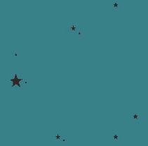 ALL OVER STARS X WEB WALLPAPER. Um projeto de Design, Ilustração, Design gráfico e Web design de PILAR SIERCO CHÉLIZ - 10-03-2014