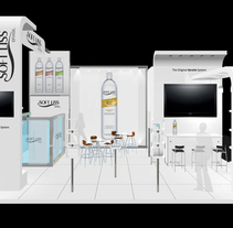 SOFTLISS - STAND. A Design, Advertising, Furniture Design, Graphic Design&Industrial Design project by Luis Miguel Pittol Mendoza         - 15.03.2014