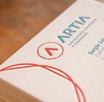 ARTIA _ JMG. A Art Direction, Br, ing, Identit, and Graphic Design project by Printing Studio         - 16.03.2014