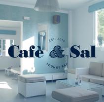 Cafè & Sal. Um projeto de Br e ing e Identidade de walrus.  - 16-03-2014