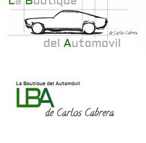 La boutique del automóvil  Logos. A Design project by Alberto Hernández Mendoza         - 17.03.2014