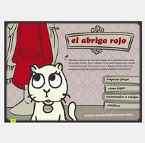 Abrigo Rojo. A Illustration, Animation&Interactive Design project by Cristina Fabregas Escurriola         - 17.03.2014