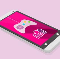 Girs Go Games - The Android app. Un proyecto de Diseño interactivo de Chus Margallo - Sábado, 01 de febrero de 2014 00:00:00 +0100