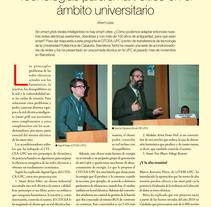 REPORTAJE: TECNOLOGÍAS PARA SMART CITIES EN EL ÁMBITO UNIVERSITARIO. A Writing project by Albert López Corbella         - 19.12.2013