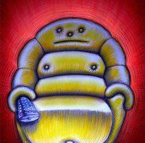 homosedentarius. A Illustration project by luis silva - Dec 11 2012 12:00 AM