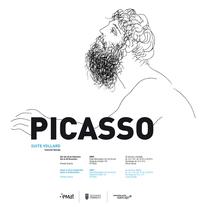 """Conceptualización y diseño de imagen para la exposición de la obra """"Suite Vollard"""" de Picasso. Cliente: Museo Emat de Torrent.. A Design, Art Direction, and Graphic Design project by Estudio Gráfico         - 31.03.2014"""