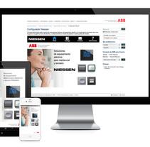 App Interruptores ABB/Niessen. A UI / UX project by Zahira Rodríguez Mediavilla - Apr 02 2014 12:00 AM
