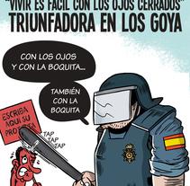 This is Spain (humor gráfico). Um projeto de Ilustração, Design de personagens e Design gráfico de Raúl Salazar - 03-04-2014