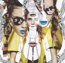 Fashion collages. A Illustration, Fashion, and Fine Art project by saravidigal         - 06.04.2014