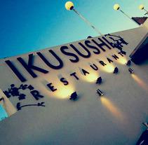 IKU Sushi | Restaurant. Un proyecto de Diseño, Publicidad, Dirección de arte, Br, ing e Identidad, Consultoría creativa, Diseño gráfico, Marketing y Diseño Web de CELINA SABATINI Diseño & Comunicación Estratégica - 06-07-2014