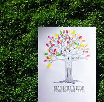 Árbol huella. Un proyecto de Diseño, Ilustración y Diseño editorial de Cristina J. Granados         - 06.04.2014