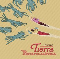 Tierra postapocalíptica. A Illustration project by Ana Galvañ - 07-04-2014