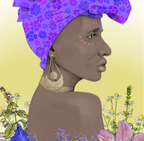 Embracing the Inner Woman Medicine. A Illustration, Br, ing, Identit, and Fine Art project by Gloria Sánchez         - 07.04.2015