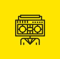 Rock Band Icons. Un proyecto de UI / UX y Diseño gráfico de Tata&Friends  - 11-04-2014