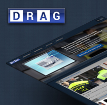 DRAG. A Software Development, UI / UX, and Web Design project by Artur Mirabet         - 16.04.2014