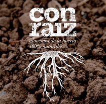 Con Raíz. A Br, ing, Identit, Graphic Design&Illustration project by Think Diseño - Nov 22 2013 12:00 AM