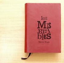 """Libro """"Los Miserables"""". Un proyecto de Diseño editorial, Diseño gráfico y Tipografía de Ivan Soucase Gonzalez         - 21.04.2014"""