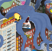 KrakenPixel. A Illustration project by Miguel Martínez-Vilanova - 04.24.2014