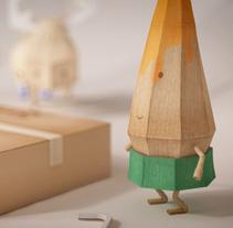Ikea / La escuela de decoración. Un proyecto de Ilustración, Dirección de arte y Diseño de personajes de DAQ  - 27-04-2014