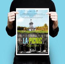La Picnic Experience. Um projeto de Design gráfico e Design de interiores de Álex Ollero - 29-04-2014