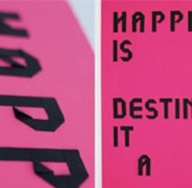 fold type. Un proyecto de Diseño gráfico y Tipografía de marion  - 20-09-2013