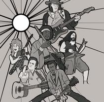 Tributo. Um projeto de Ilustração de Imanol Etxeberria - 05-05-2014