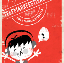 TELEMARK FESTIVALEN -Norway-. A Illustration, and Graphic Design project by Natxo Uribe - 06-05-2014
