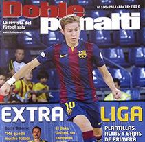 Revista Doblepenalti. Um projeto de Design, Design editorial e Design gráfico de Inma Lázaro         - 11.04.2014