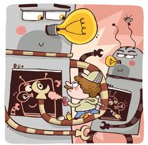 Calendario. A Illustration project by David Arumi - May 09 2014 12:00 AM