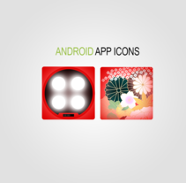 Android APP Icons -Diseño-. A Illustration, and Graphic Design project by Eloy Pardo Rouco         - 14.05.2014