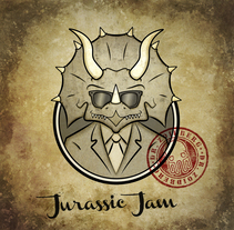 Diseño Gráfico e Ilustración (EP Jurassic Jam - Dr Zoidberg). A Design, Music, Audio, and Vector illustration project by Miki Emes         - 24.05.2014