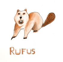 Proyecto a dos tintas! Rufus!. Un proyecto de Ilustración de Sandra Arroyo de Lucas         - 26.05.2014