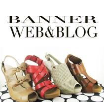 Banner Web. Um projeto de Design de calçados de Eva Sevilla         - 28.05.2014