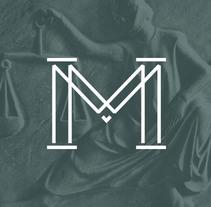 Montoya & Molina Abogados. Diseño de Marca.. Um projeto de Br e ing e Identidade de Plan D Creativos  - 23-02-2014