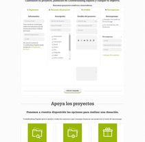 Crowdfunding España. A IT, Web Design, and Web Development project by Jose Luis Torres Arevalo         - 31.03.2014