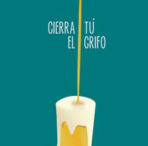 Un dedo de espuma, dos dedos de frente. Um projeto de Ilustração e Design gráfico de María Martín González         - 02.06.2014