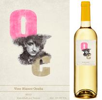 Ocaña Wine label. Um projeto de Design gráfico de Salvador Fernández Jordan         - 09.07.2013