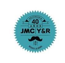 Logo de aniversario de la agencia de publicidad JMC Y&R 40 AÑOS// CCS-VZLA. A Br, ing&Identit project by Juan Pablo Rabascall Cortizzos         - 13.11.2013