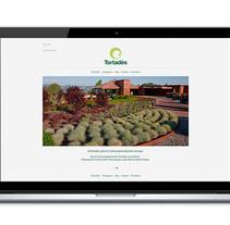 gardentortades.com. Um projeto de Web design de Bisgràfic  - 09-06-2014