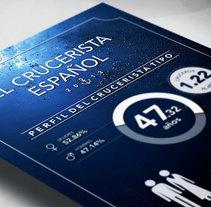 Infografía El Crucerista Español 2013. A Editorial Design, Graphic Design&Information Design project by Carlos Ugo         - 16.12.2013