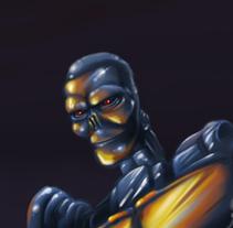 Cronologic Evol-Painter. Un proyecto de Diseño, Ilustración, Pintura y Serigrafía de Artista Freelance animador 2D-3D, Ilustrador, Digital Painter...         - 11.06.2014