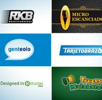 Recopilación de logos. Um projeto de Br, ing e Identidade e Design gráfico de David Figuer - 15-06-2014