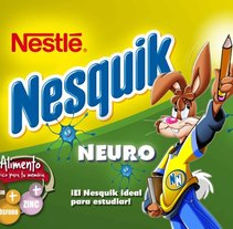 Nesquik Neuro. A Advertising, Graphic Design, and Packaging project by Marta Pérez Pérez         - 17.11.2011