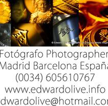 Estudio fotografico en Madrid Edward Olive. Un proyecto de Fotografía de edward  olive - 20-06-2014