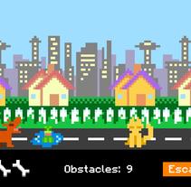 Dog Radio. Un proyecto de Diseño, Informática, Animación, Diseño de juegos y Diseño gráfico de Alicia Guardeño Albertos - 29-09-2013