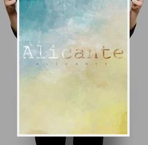Alicante, tierra y azul.. Um projeto de Design, Publicidade, Direção de arte, Br, ing e Identidade e Design gráfico de Carlos Parra Ruiz - 24-06-2014