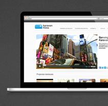 Web Karavan FIlms. Un proyecto de Arquitectura de la información, Dirección de arte, Diseño Web y UI / UX de David Sánchez - Miércoles, 25 de junio de 2014 00:00:00 +0200