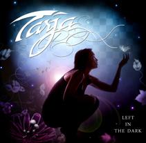 """Left in the Dark"" Tarja Turunen Cover. A Design, Editorial Design, and Graphic Design project by Marta Arévalo Segarra         - 26.06.2014"