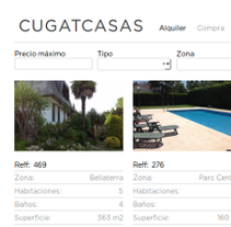 Cugatcasas - Web en WP. A Web Development project by Jordijim         - 31.05.2013